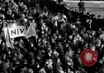 Image of demonstrations against Vietnam War London England United Kingdom, 1968, second 59 stock footage video 65675071476