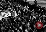 Image of demonstrations against Vietnam War London England United Kingdom, 1968, second 60 stock footage video 65675071476