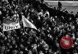 Image of demonstrations against Vietnam War London England United Kingdom, 1968, second 61 stock footage video 65675071476