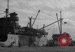 Image of new dock Manila Philippines, 1945, second 48 stock footage video 65675071479