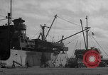 Image of new dock Manila Philippines, 1945, second 49 stock footage video 65675071479