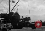 Image of new dock Manila Philippines, 1945, second 54 stock footage video 65675071479