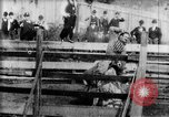 Image of Bucking Bronco West Orange New Jersey USA, 1894, second 9 stock footage video 65675071499