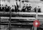 Image of Bucking Bronco West Orange New Jersey USA, 1894, second 23 stock footage video 65675071499