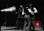 Image of Film-sound experiment West Orange New Jersey USA, 1895, second 5 stock footage video 65675071504