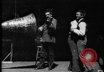 Image of Film-sound experiment West Orange New Jersey USA, 1895, second 8 stock footage video 65675071504