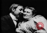 Image of May Irwin and John Rice Europe, 1896, second 3 stock footage video 65675071508