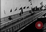 Image of Water chute ride Coney Island New York USA, 1896, second 22 stock footage video 65675071511