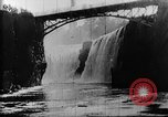 Image of Passaic River Patterson New Jersey USA, 1896, second 8 stock footage video 65675071512