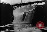 Image of Passaic River Patterson New Jersey USA, 1896, second 14 stock footage video 65675071512