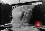 Image of Passaic River Patterson New Jersey USA, 1896, second 15 stock footage video 65675071512
