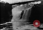 Image of Passaic River Patterson New Jersey USA, 1896, second 18 stock footage video 65675071512