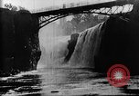 Image of Passaic River Patterson New Jersey USA, 1896, second 19 stock footage video 65675071512