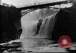 Image of Passaic River Patterson New Jersey USA, 1896, second 20 stock footage video 65675071512