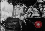 Image of Fisherman Fanwood New Jersey USA, 1896, second 23 stock footage video 65675071513