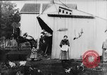Image of Farmyard scene New Jersey United States USA, 1896, second 8 stock footage video 65675071515