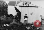 Image of Farmyard scene New Jersey United States USA, 1896, second 10 stock footage video 65675071515