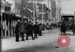 Image of horse-drawn sleighs Harrisburg Pennsylvania USA, 1896, second 23 stock footage video 65675071523