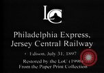Image of Crossing railroad lines United States USA, 1897, second 2 stock footage video 65675071538