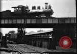 Image of Crossing railroad lines United States USA, 1897, second 23 stock footage video 65675071538