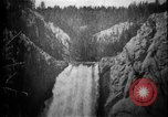 Image of Lower Falls Wyoming United States USA, 1897, second 14 stock footage video 65675071543