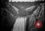 Image of Lower Falls Wyoming United States USA, 1897, second 15 stock footage video 65675071543
