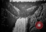 Image of Lower Falls Wyoming United States USA, 1897, second 16 stock footage video 65675071543