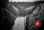 Image of Lower Falls Wyoming United States USA, 1897, second 17 stock footage video 65675071543