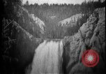 Image of Lower Falls Wyoming United States USA, 1897, second 18 stock footage video 65675071543