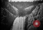 Image of Lower Falls Wyoming United States USA, 1897, second 19 stock footage video 65675071543