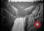 Image of Lower Falls Wyoming United States USA, 1897, second 22 stock footage video 65675071543