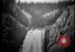 Image of Lower Falls Wyoming United States USA, 1897, second 23 stock footage video 65675071543