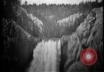 Image of Lower Falls Wyoming United States USA, 1897, second 24 stock footage video 65675071543