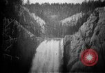 Image of Lower Falls Wyoming United States USA, 1897, second 25 stock footage video 65675071543