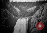 Image of Lower Falls Wyoming United States USA, 1897, second 26 stock footage video 65675071543