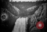 Image of Lower Falls Wyoming United States USA, 1897, second 27 stock footage video 65675071543