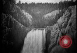 Image of Lower Falls Wyoming United States USA, 1897, second 28 stock footage video 65675071543