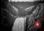 Image of Lower Falls Wyoming United States USA, 1897, second 29 stock footage video 65675071543