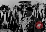 Image of Adolf Hitler giving impassioned speeches Germany, 1935, second 5 stock footage video 65675071547