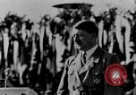 Image of Adolf Hitler giving impassioned speeches Germany, 1935, second 8 stock footage video 65675071547