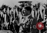 Image of Adolf Hitler giving impassioned speeches Germany, 1935, second 9 stock footage video 65675071547
