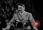 Image of Adolf Hitler giving impassioned speeches Germany, 1935, second 13 stock footage video 65675071547
