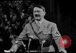 Image of Adolf Hitler giving impassioned speeches Germany, 1935, second 14 stock footage video 65675071547