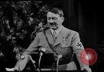 Image of Adolf Hitler giving impassioned speeches Germany, 1935, second 16 stock footage video 65675071547