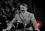 Image of Adolf Hitler giving impassioned speeches Germany, 1935, second 17 stock footage video 65675071547