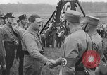 Image of Adolf Hitler in Nazi rally at Zeppelin Field in Nuremberg Germany, 1933, second 7 stock footage video 65675071551