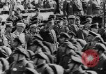Image of Adolf Hitler in Nazi rally at Zeppelin Field in Nuremberg Germany, 1933, second 20 stock footage video 65675071551