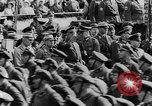Image of Adolf Hitler in Nazi rally at Zeppelin Field in Nuremberg Germany, 1933, second 21 stock footage video 65675071551