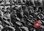 Image of Adolf Hitler in Nazi rally at Zeppelin Field in Nuremberg Germany, 1933, second 22 stock footage video 65675071551