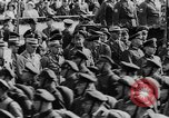 Image of Adolf Hitler in Nazi rally at Zeppelin Field in Nuremberg Germany, 1933, second 23 stock footage video 65675071551